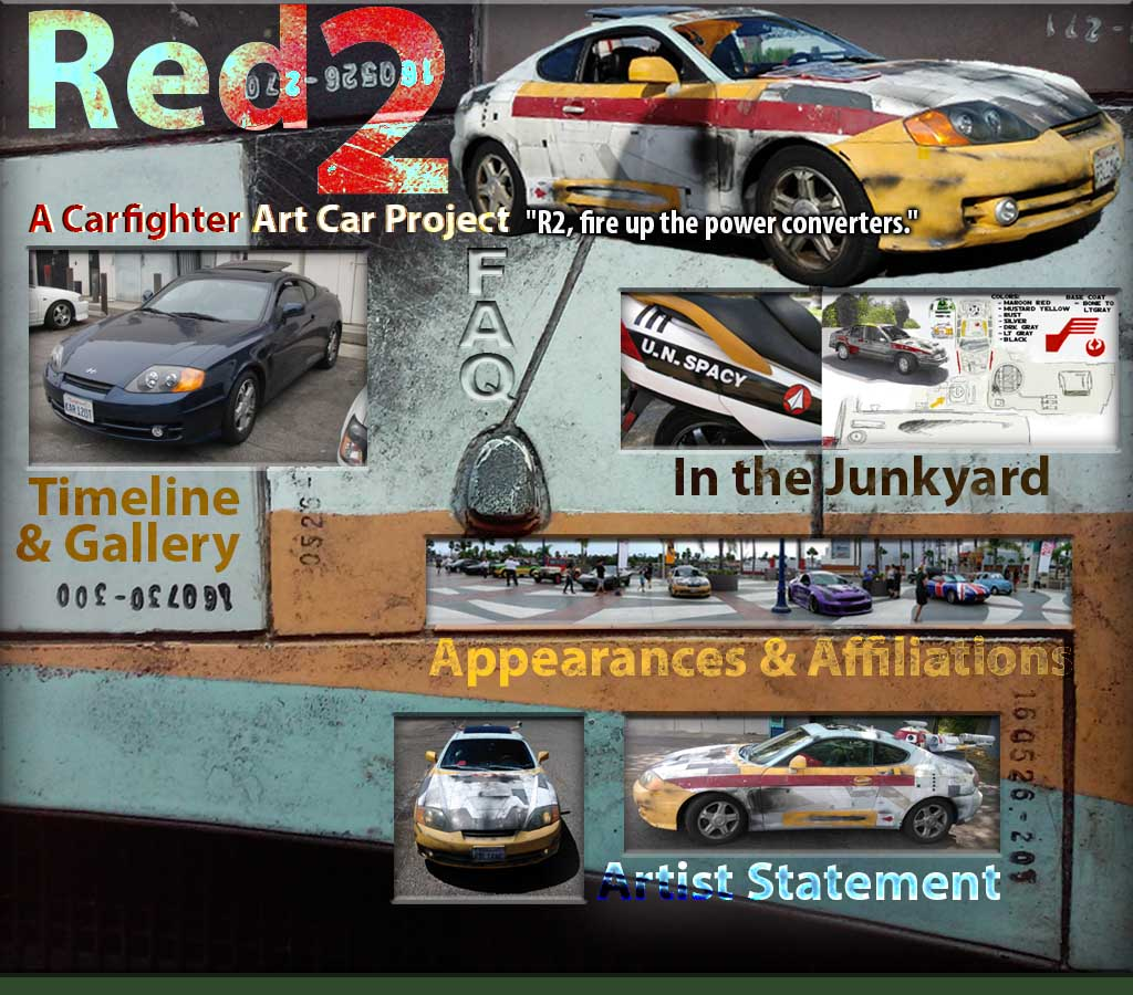 Red 2, A Carfighter Art Car Project: Index
